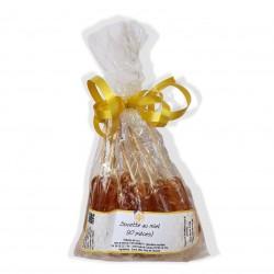 Sachet de 10 sucettes au miel