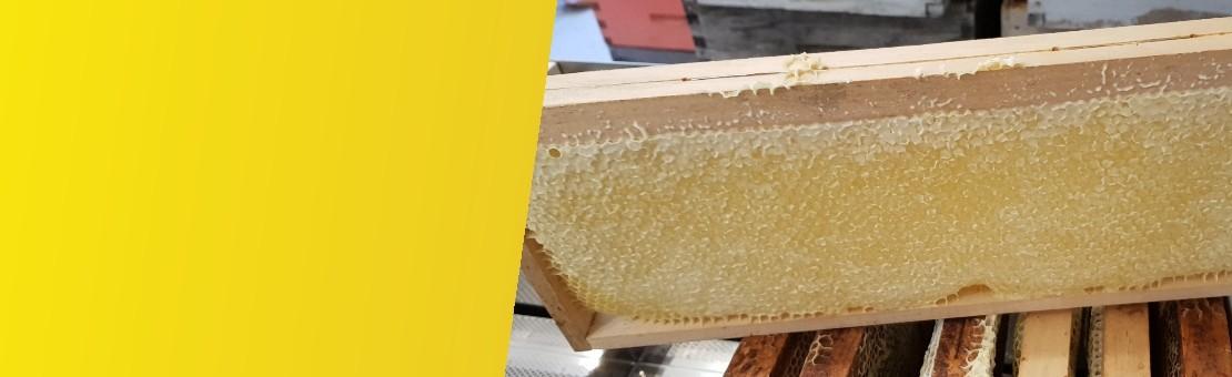 cadre rayon miel lavande